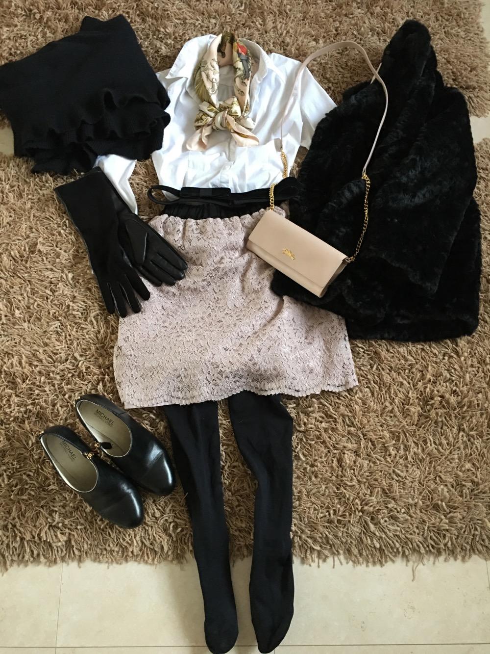Sunnuntain oopperakonsertin outfit