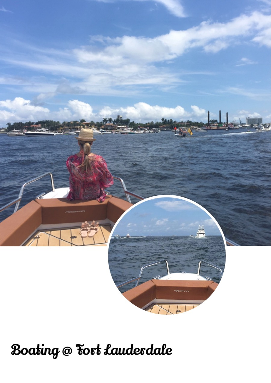 Veneilyä Fort Lauderdalessa
