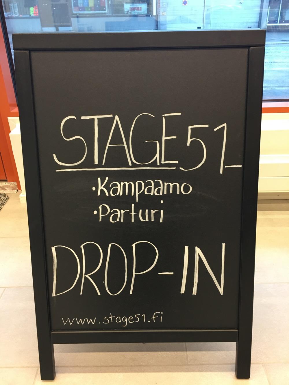 Uusi kampaamo Stage 51