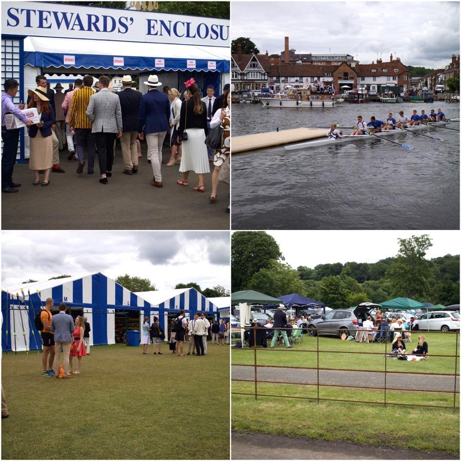 3 päivää Englannissa: 1. päivä Henley Royal Regatta