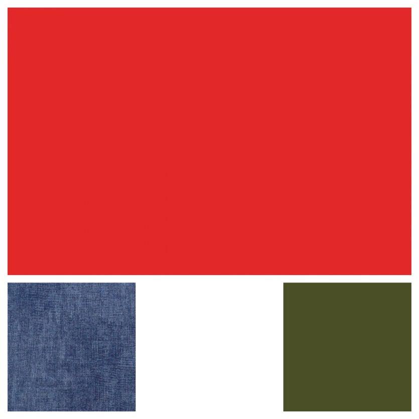 Kevään väriviikko: Punainen