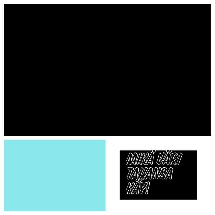 Kevään väriviikko: Musta