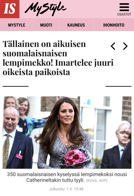 doppwoman Ilta-Sanomat MyStyle
