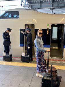 Matkamme jatkui Kyoton kautta Tokioon