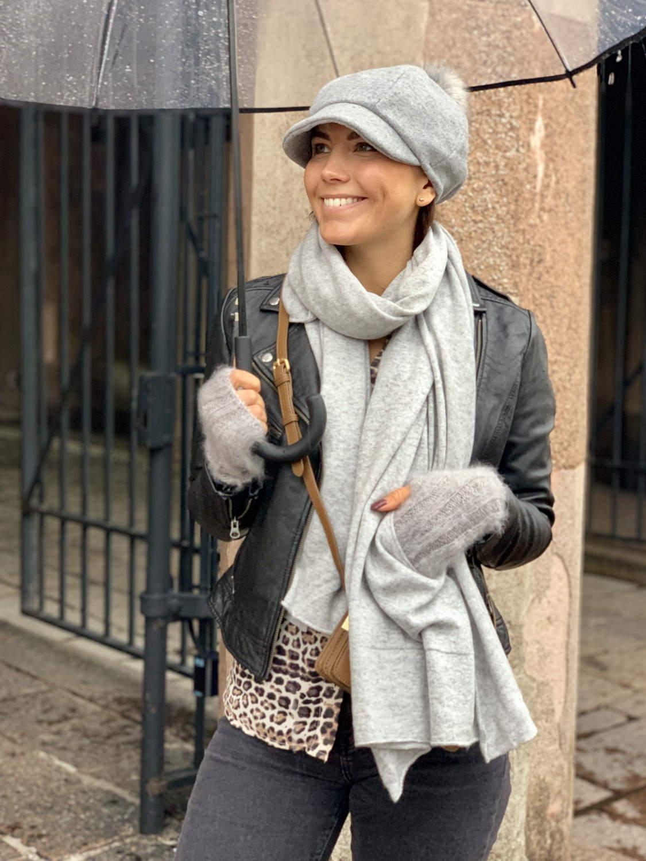 Talvi tulee: Lippapipo, taskuhuivi ja känsikkäät