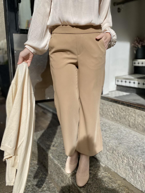 Culottes housut vapaa-aikaan, töihin ja juhlaan