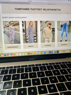 Näin shoppailet Doppshop verkkokaupassamme!