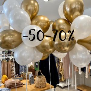 Alensimme lisää -60-70%