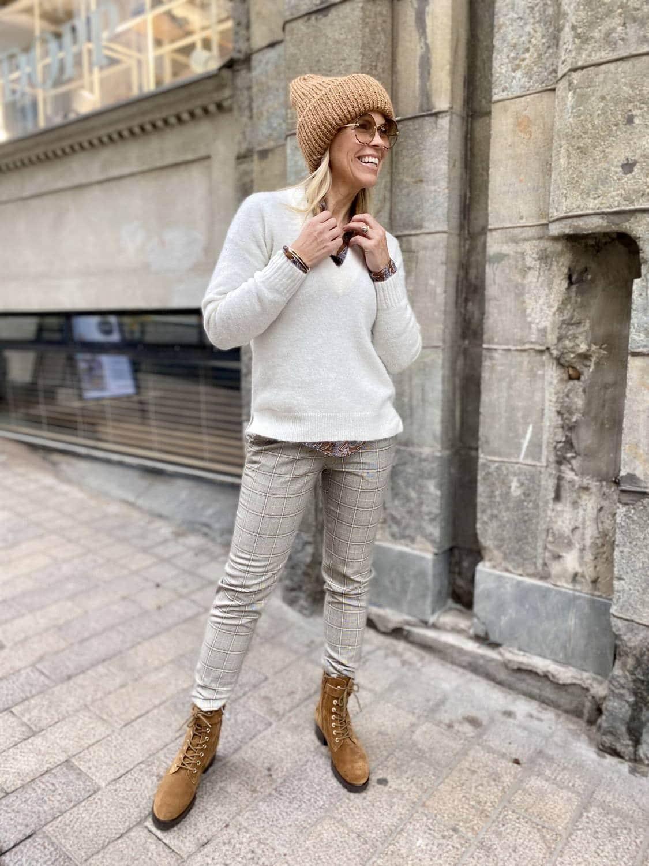 Suositut Beck housut myös ruudullisina