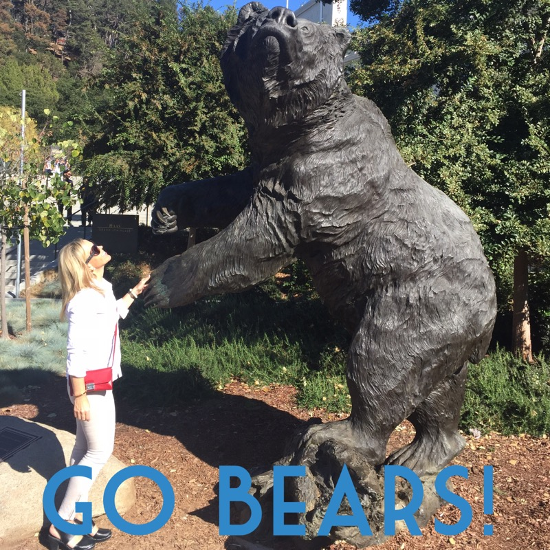 Game day, GO BEARS!