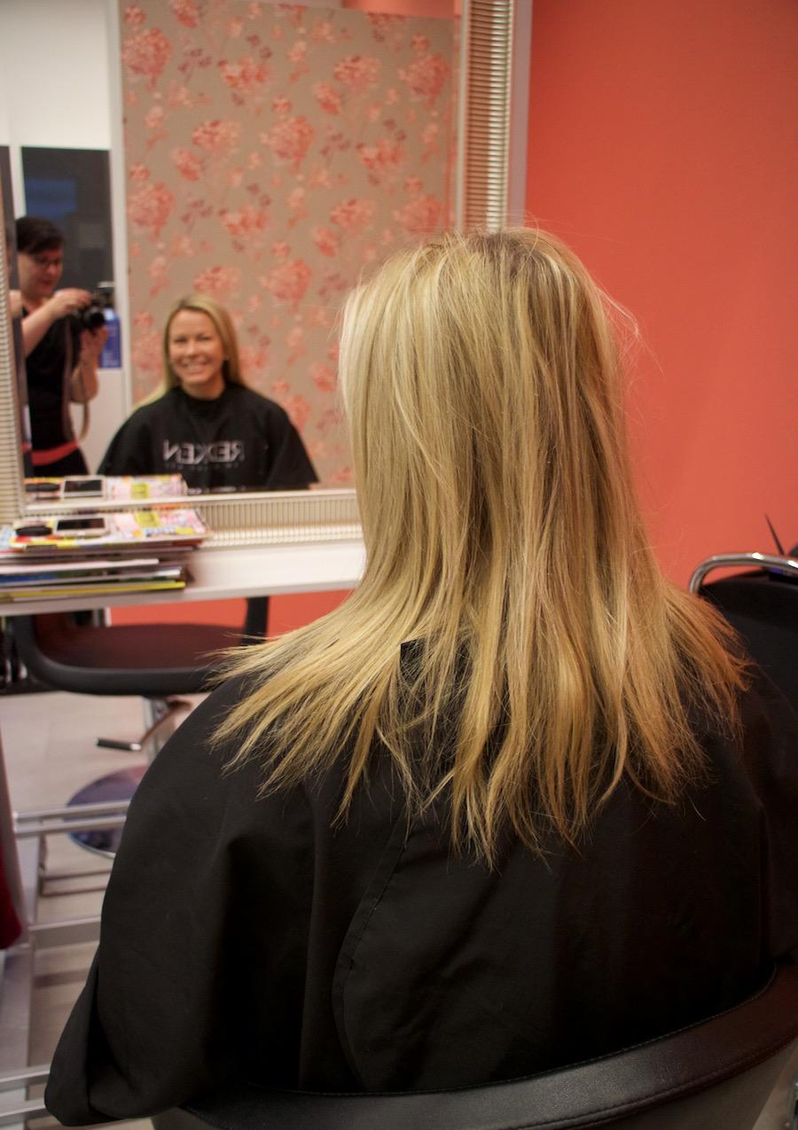 Hiukset lyheni lähes 20 cm ja arvonnan voittajat!