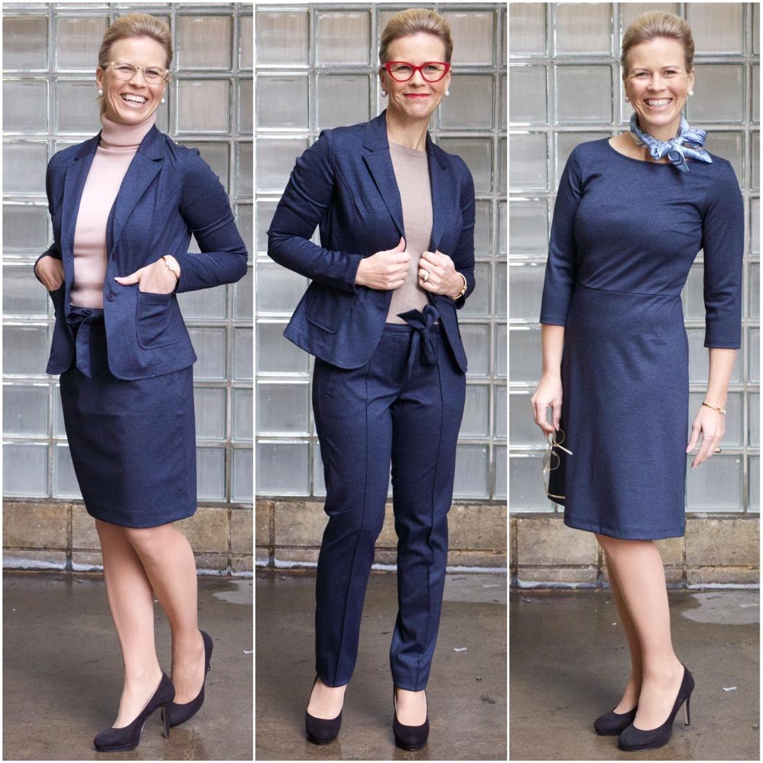 Neljäosainen puku