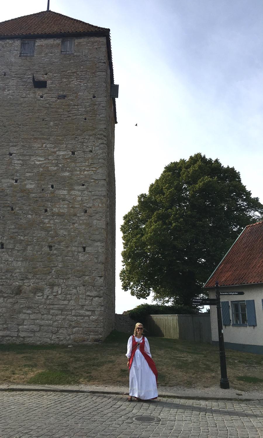 Keskiajanvisiitti Visbyssä